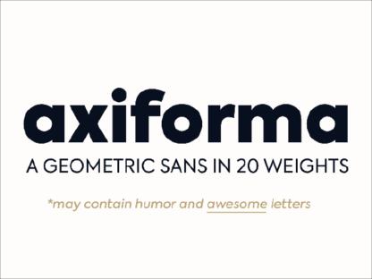 Axiforma