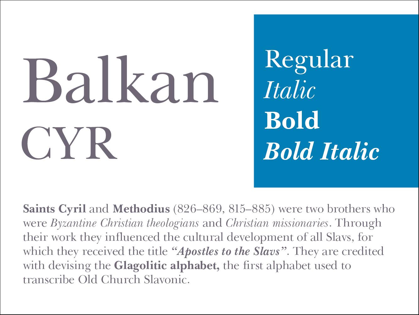 Balkan CYR
