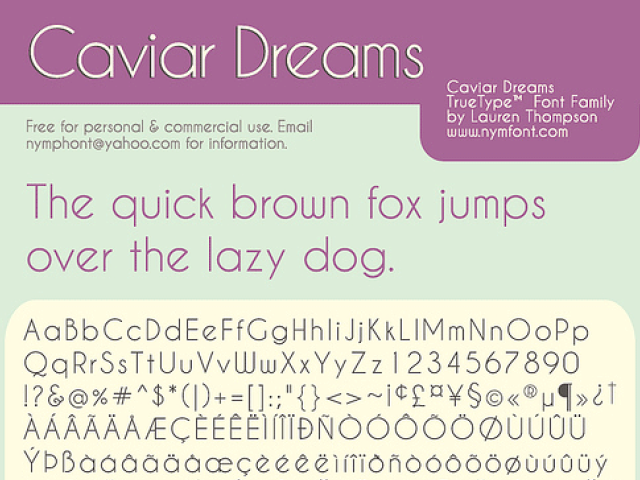 Caviar Dreams