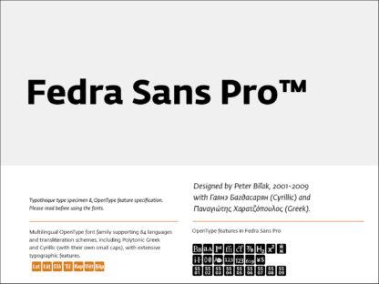 Fedra Sans Pro