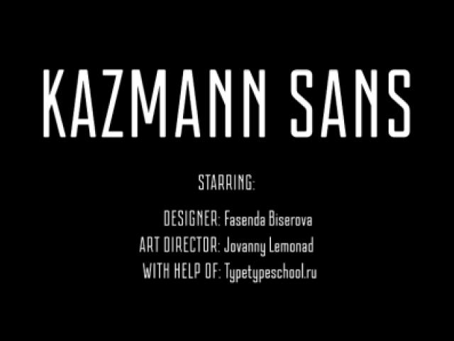 Kazmann Sans
