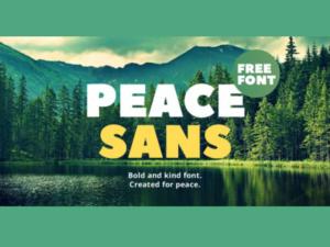 Peace Sans