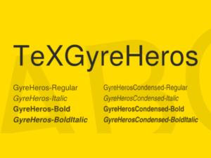 TeX Gyre Heros