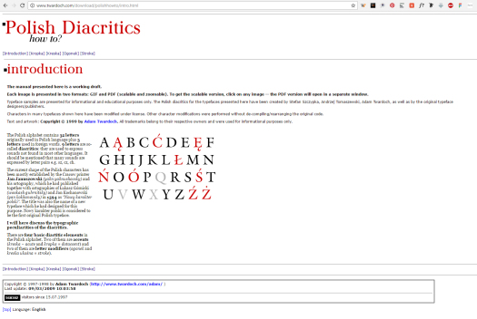 Polish Diacritics
