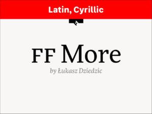 FF More
