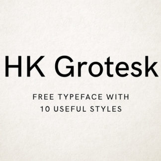 HK Grotesk