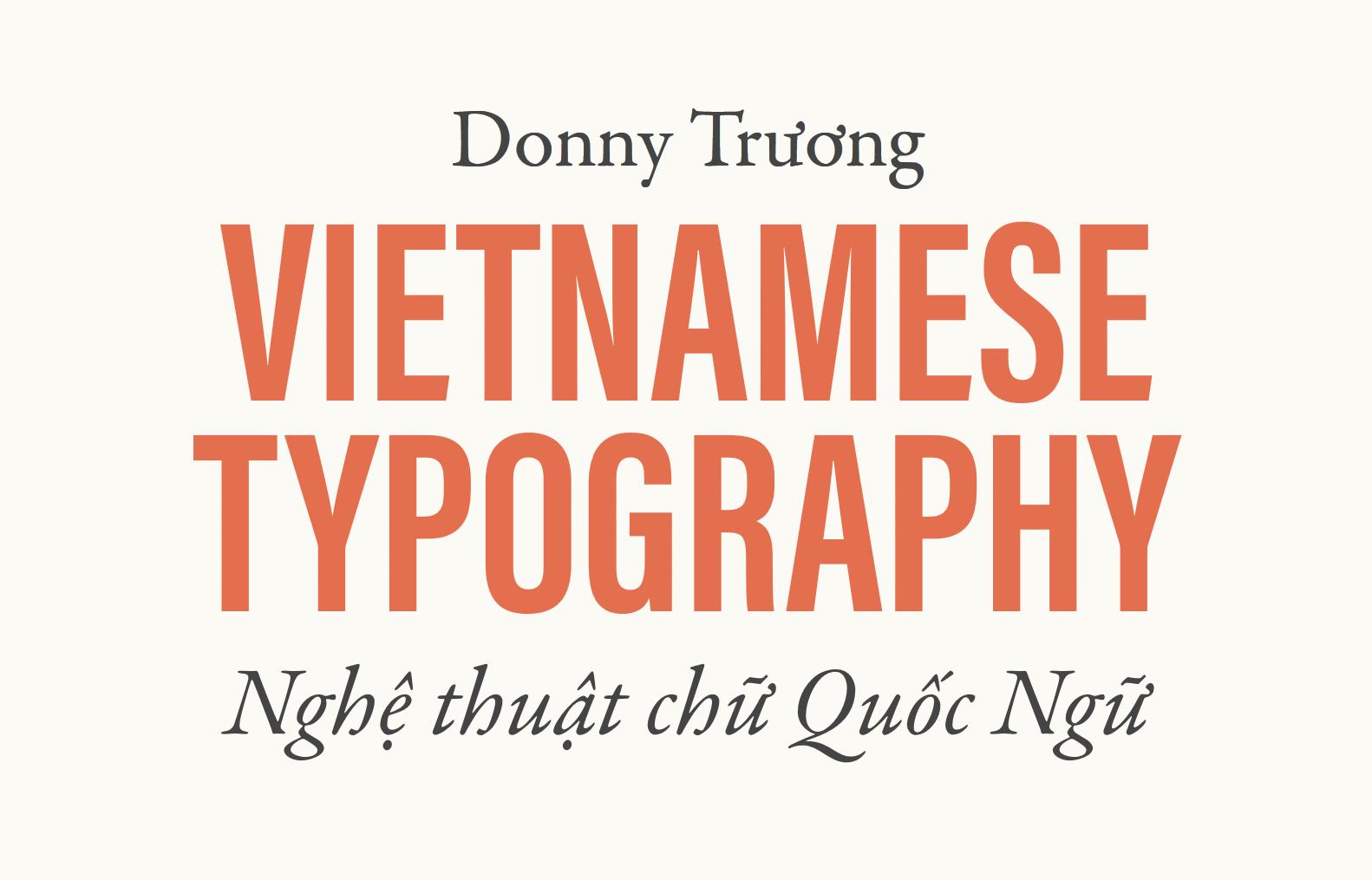 Vietnamese Typography
