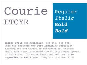Courie ETCYR