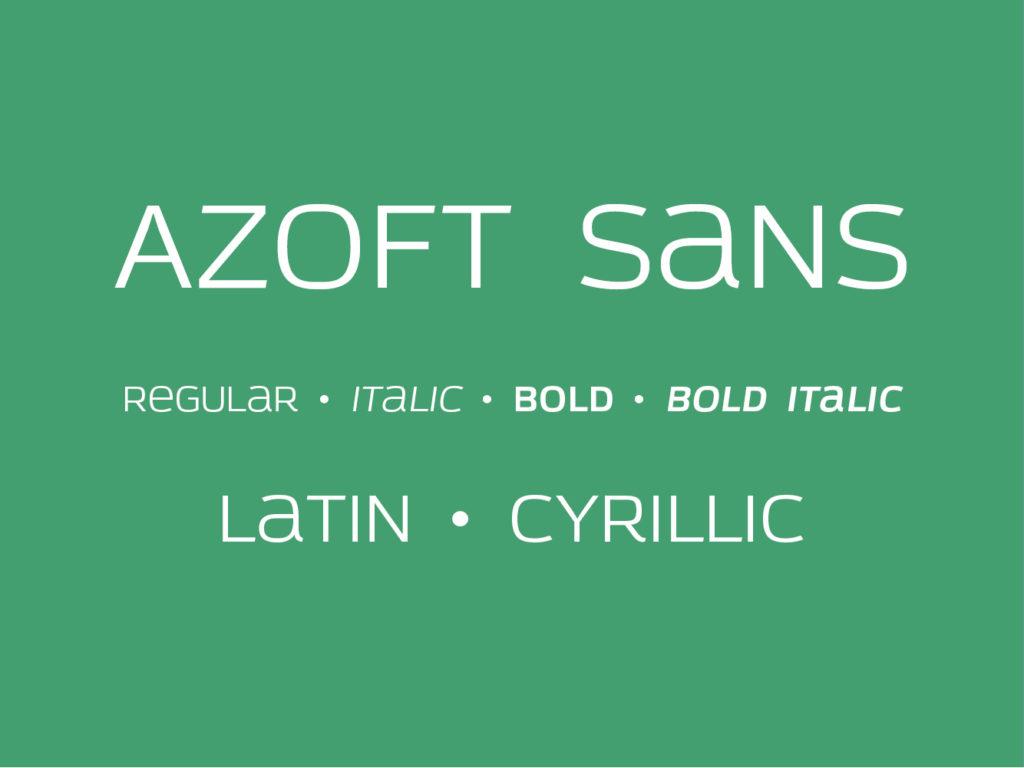 Azoft Sans