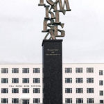 Monument of the Cyrillic Alphabet in Mongolia