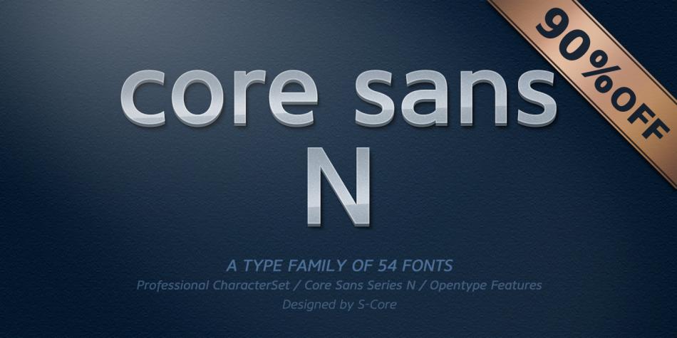 Core Sans N