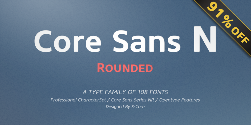 Core Sans NR