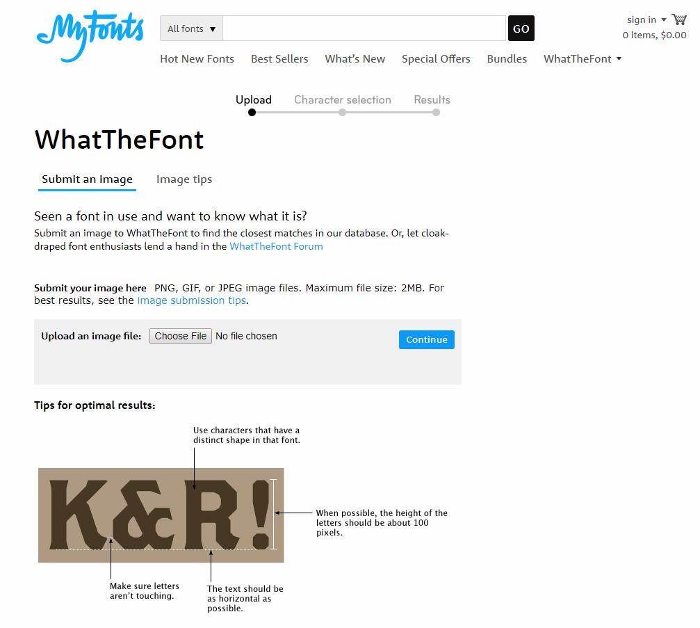 Identify fonts | Local Fonts