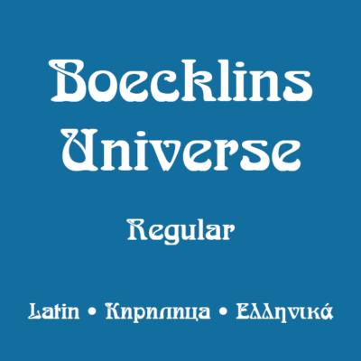 Boecklins Universe