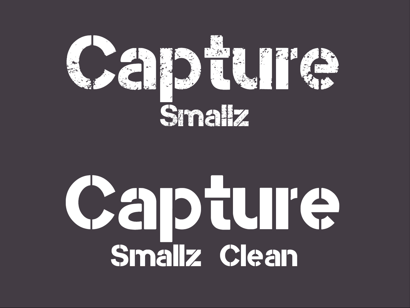 Capture Smallz