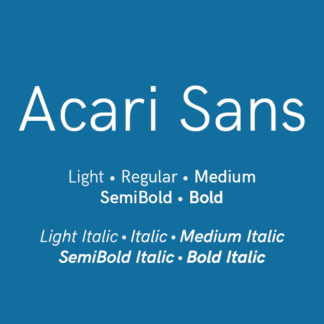 Acari Sans