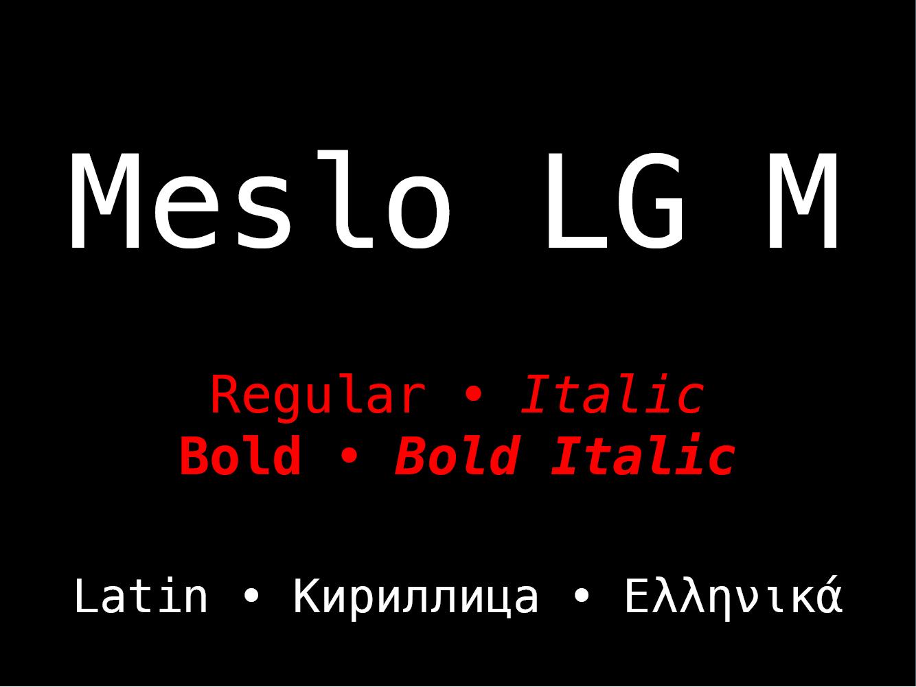 Meslo LG M
