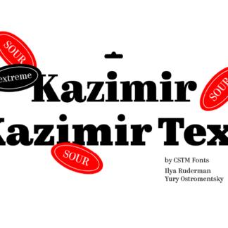 Kazimir & Kazimir Text