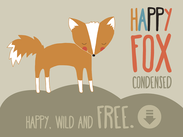 Happy Fox Condensed