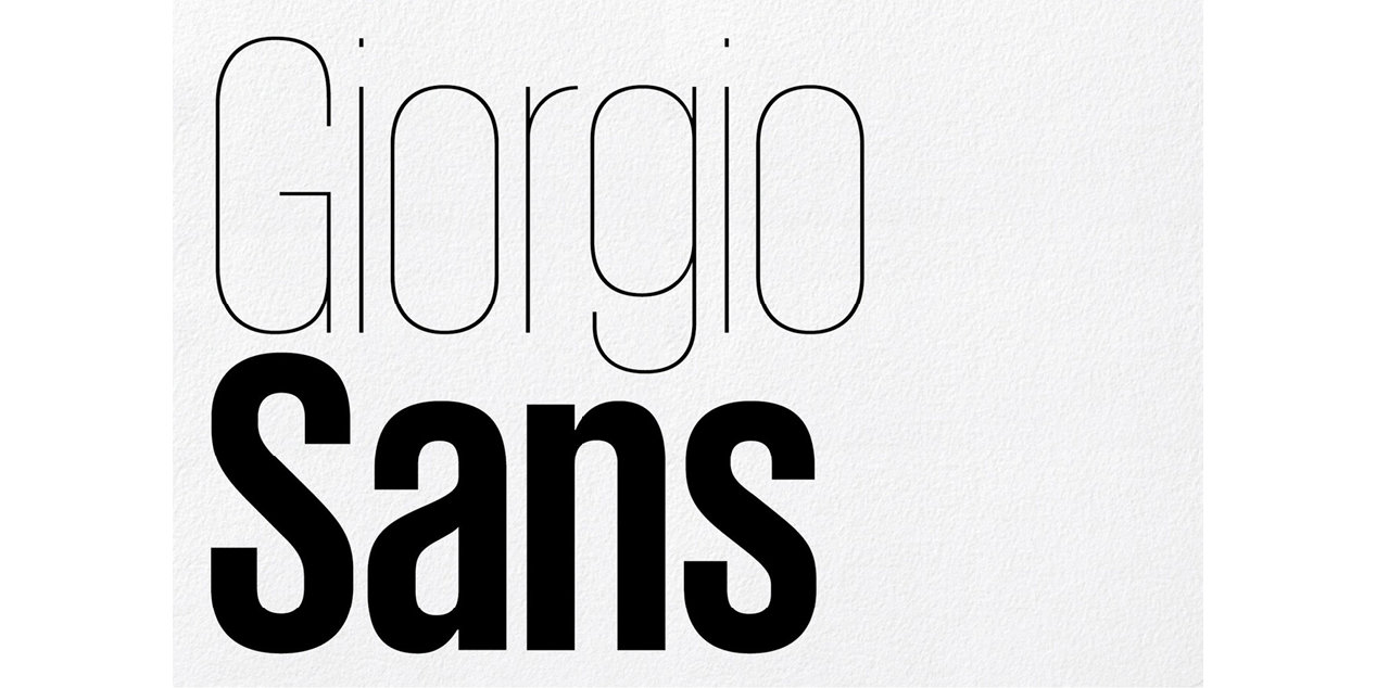 Giorgio Sans | Local Fonts
