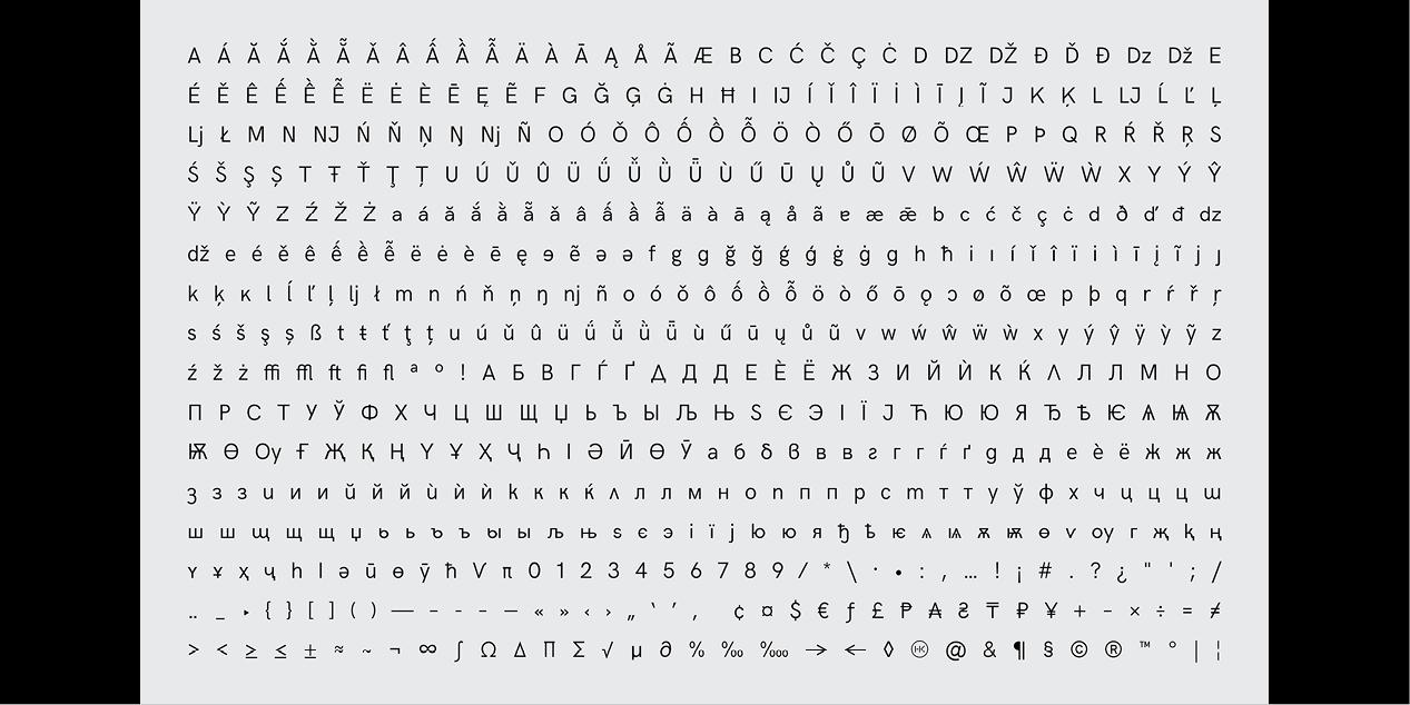 HK Grotesk Cyrillic