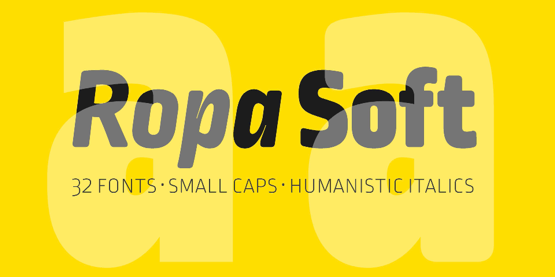 Ropa Soft (2 free fonts) | Local Fonts