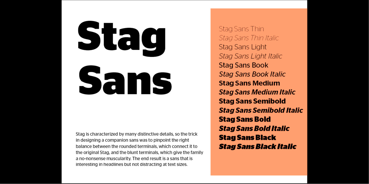 Stag Sans | Local Fonts