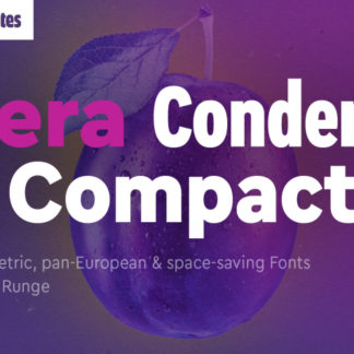 Cera Condensed and Compact