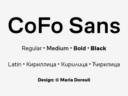 CoFo Sans