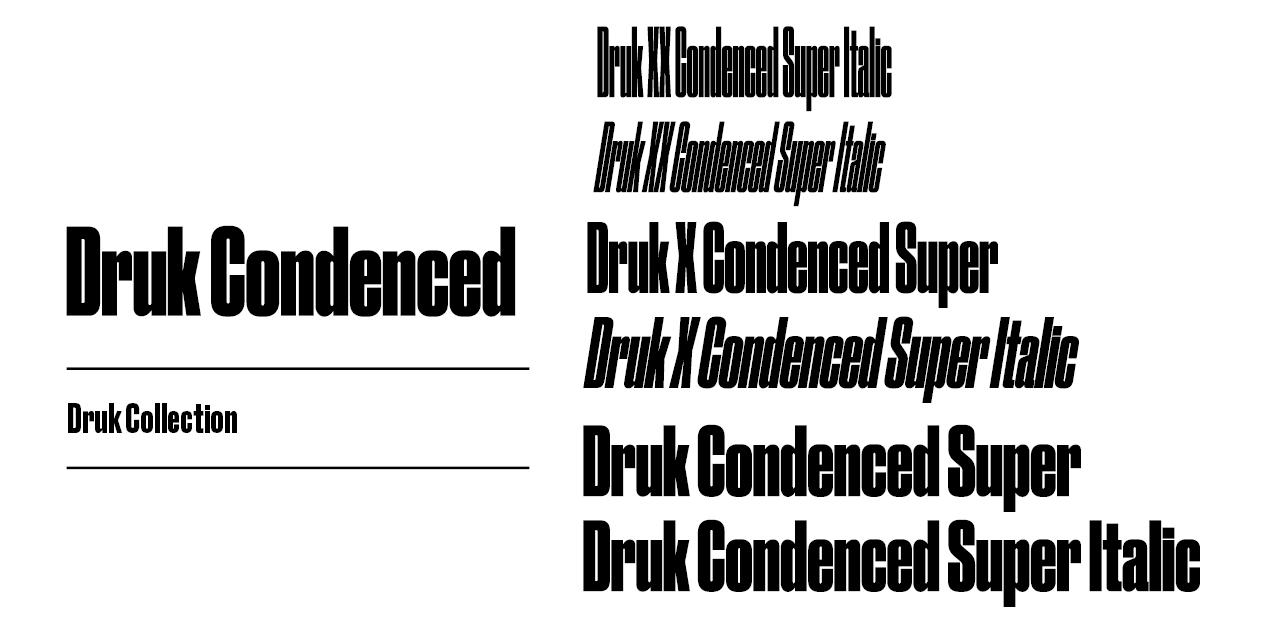 Druk Condensed