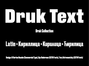 Druk Text