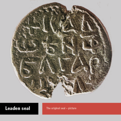 Leaden seal of Kaloyan