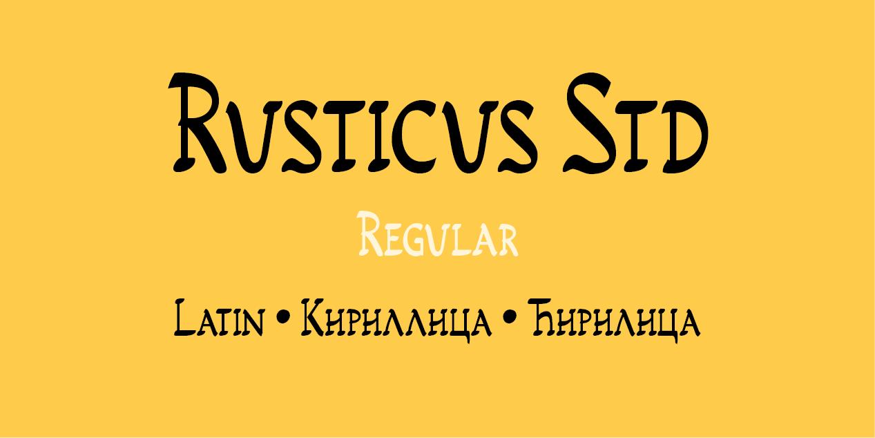 Rusticus Std