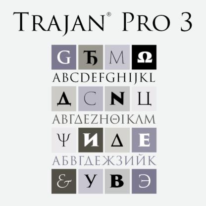 Trajan® Pro 3