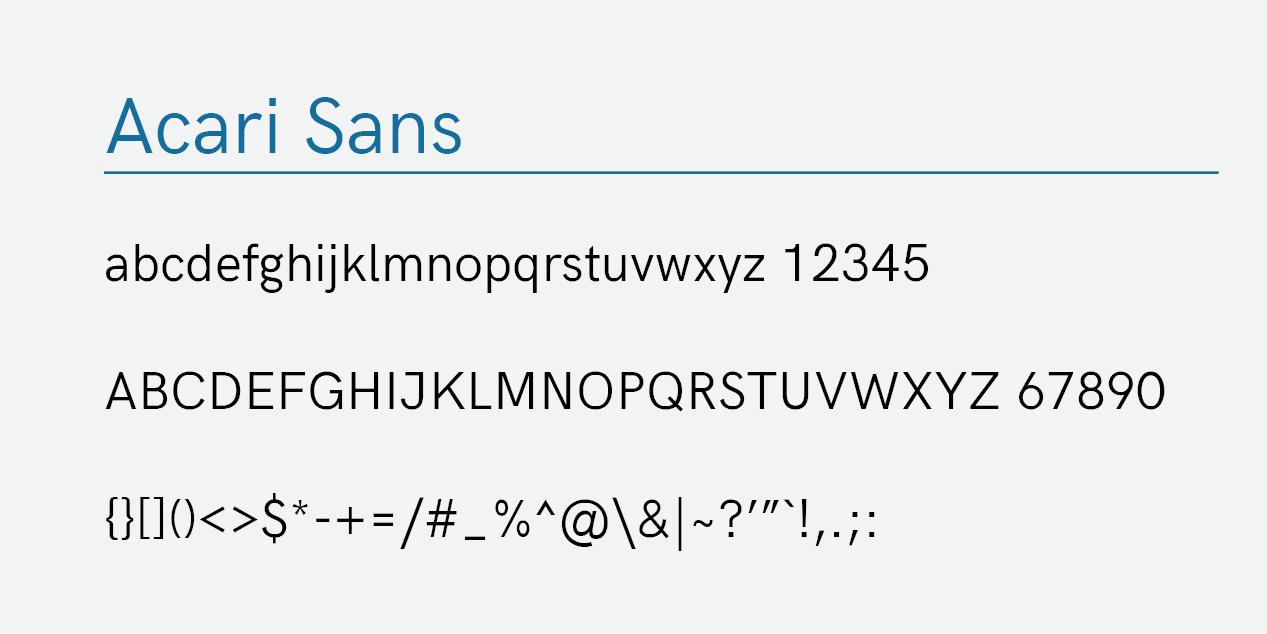 Acari Sans