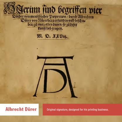 Albrecht Dürer Signature