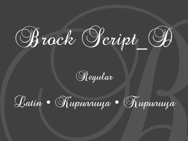Brock Script_D