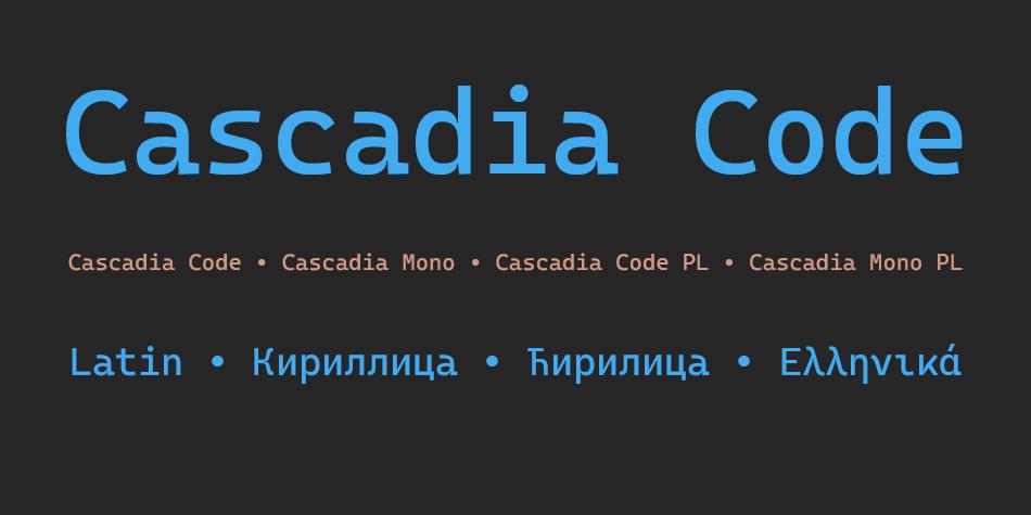 Cascadia Code