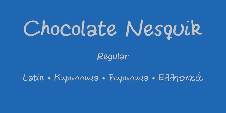 Chocolate Nesquik