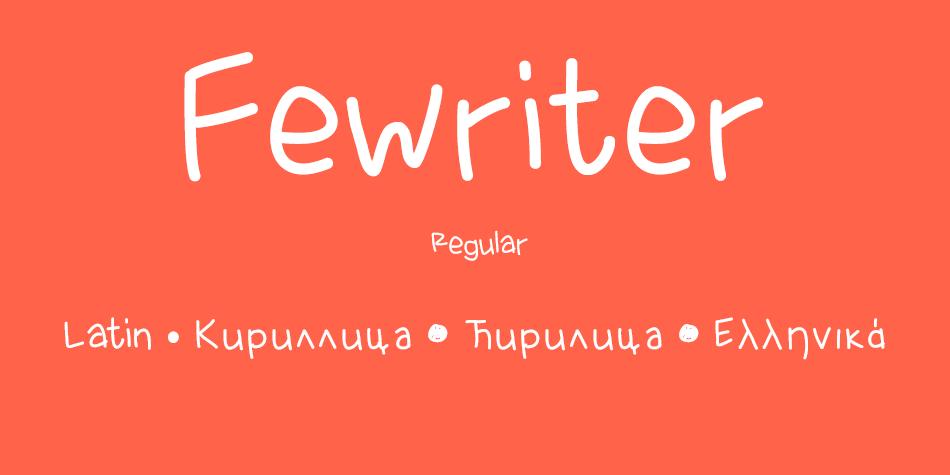 Fewriter