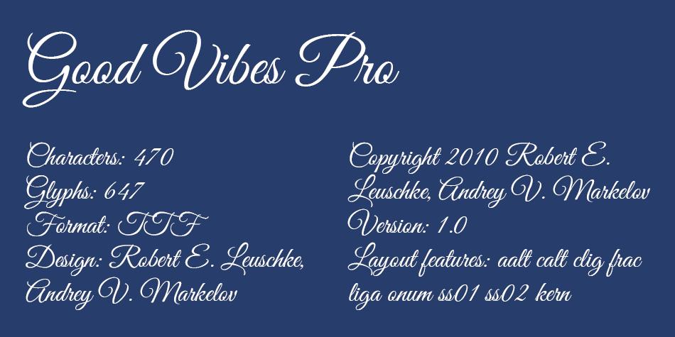 Good Vibes Pro