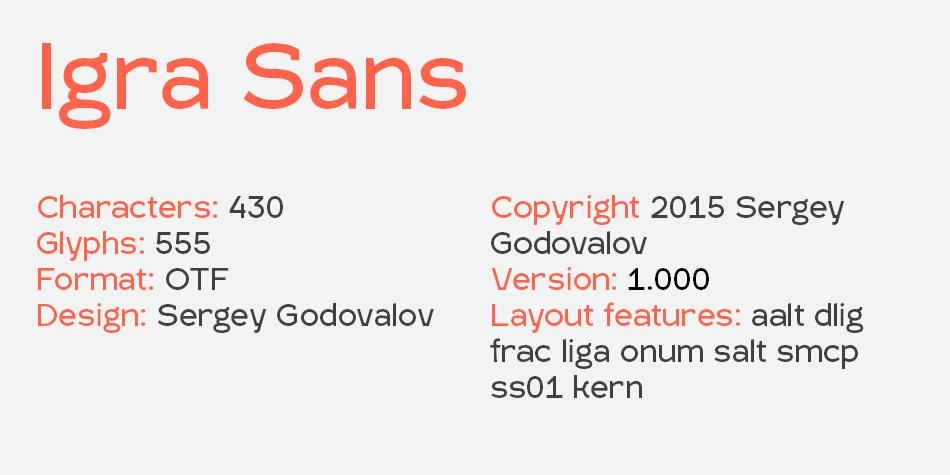 Igra Sans