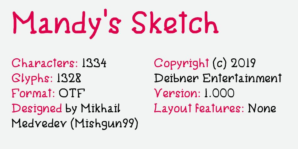 Mandy's Sketch