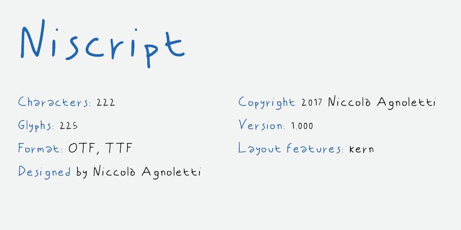Niscript