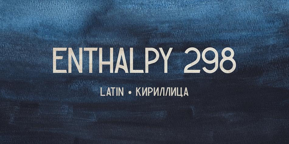 Enthalpy 298