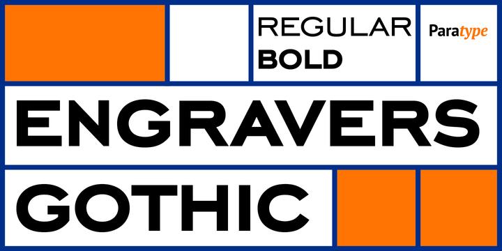 Engravers Gothic