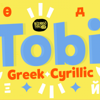 Tobi Greek Cyrillic