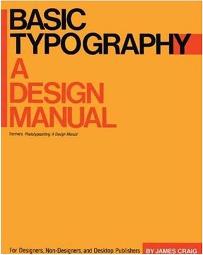 Basic Typography: A Design Manual