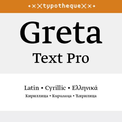 Greta Text Pro