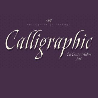 Cal Cursive Modern